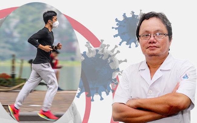 Bs Trương Hữu Khanh: Không nên giảm tập thể dục vì lo dịch bệnh virus corona, môn thể thao nào cũng tốt cho hệ miễn dịch, nâng cao sức đề kháng