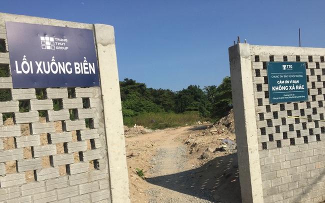 Đà Nẵng mở 5 lối xuống biển cho người dân Nam Ô