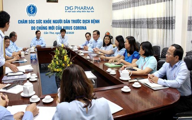 Doanh nghiệp dược góp sức phòng dịch nCoV cùng ngành y tế