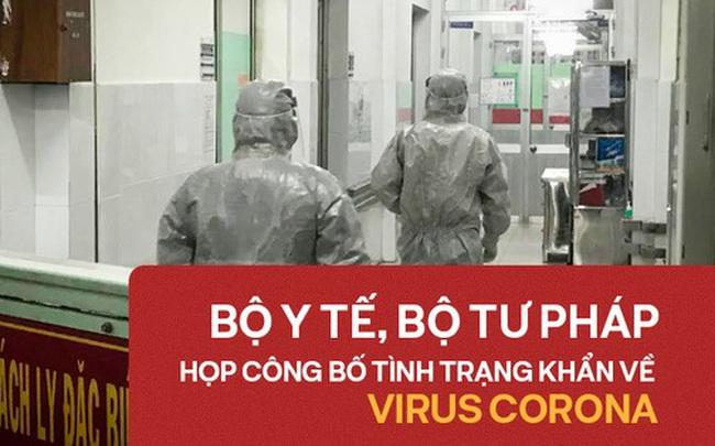 Đang họp bàn công bố tình trạng khẩn cấp về bệnh dịch do virus corona ở Việt Nam