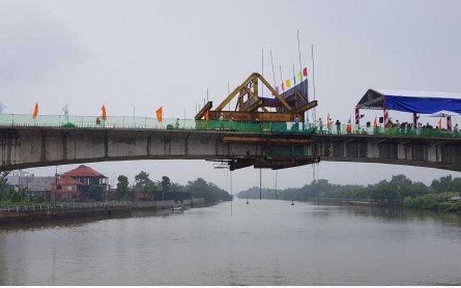 Hợp long cầu Phước Lộc, tăng cường kết nối giao thông phía Nam TP HCM