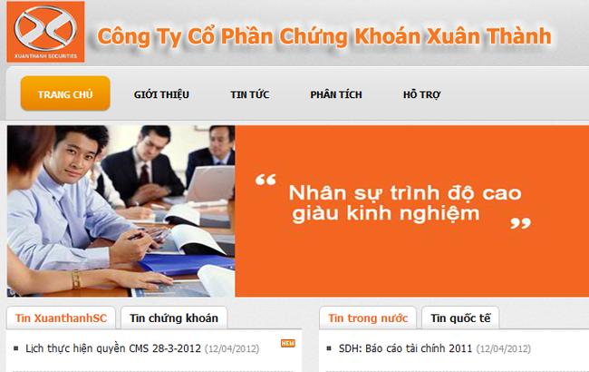 XuanThanhSC: Đẩy mạnh tự doanh, quý 3/2012 lỗ hơn 78 tỷ đồng