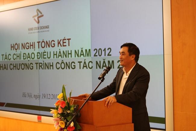 Năm 2012, huy động trái phiếu Chính phủ qua HNX đạt 156.500 tỷ đồng, gần gấp đôi năm 2011