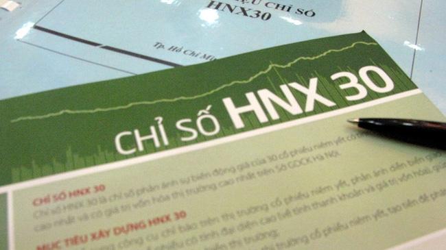 HNX điều chỉnh tỷ lệ free-float của các cổ phiếu trong HNX30 quý 1/2013