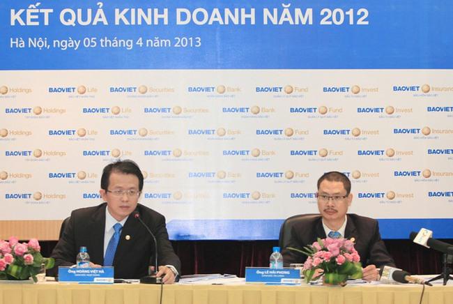 BVH: 2 tháng đầu năm 2013 doanh thu hợp nhất đạt gần 2.400 tỷ đồng