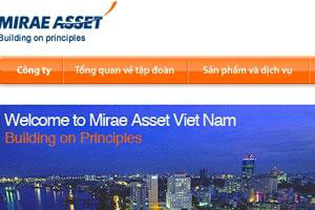 Mirae Asset: Thay đổi kế toán trưởng, quý 1/2013 lỗ gần 2,7 tỷ đồng