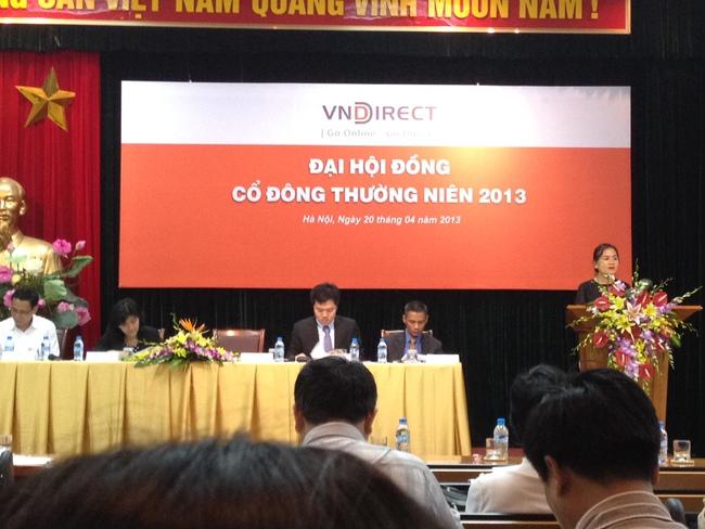 [Trực tiếp]: Đại hội cổ đông CTCP VnDirect - đặt lợi nhuận 101 tỷ đồng