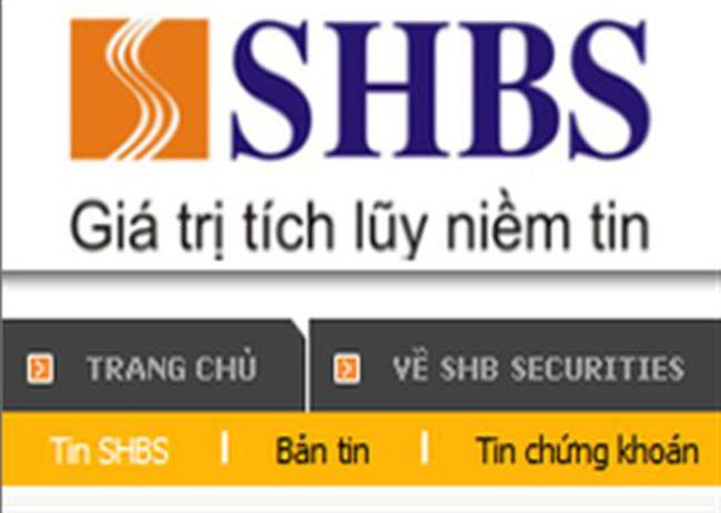 SHBS:Tự doanh giải ngân mạnh vào bluechips, Quý 1/2013 lãi 930 triệu đồng