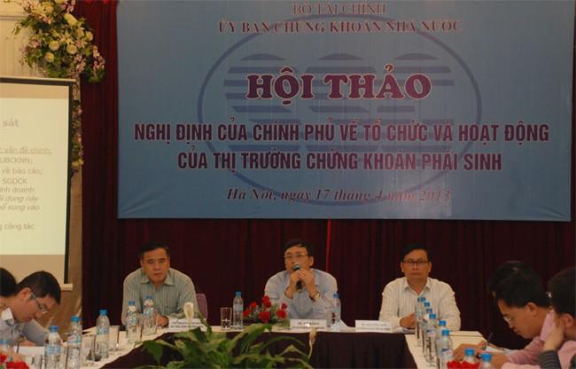 Năm 2014 Việt Nam mới có TTCK phái sinh