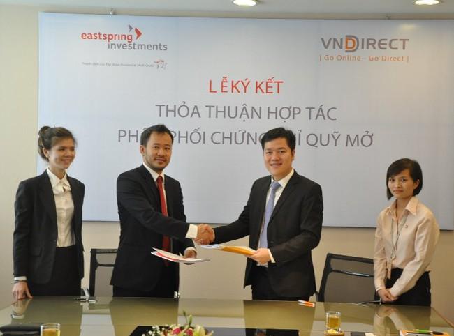 VNDirect trở thành đại lý phân phối chứng chỉ quỹ mở cho Eastspring Investments