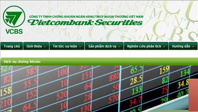 VCBS: 9 tháng ước đạt 36 tỷ đồng lợi nhuận