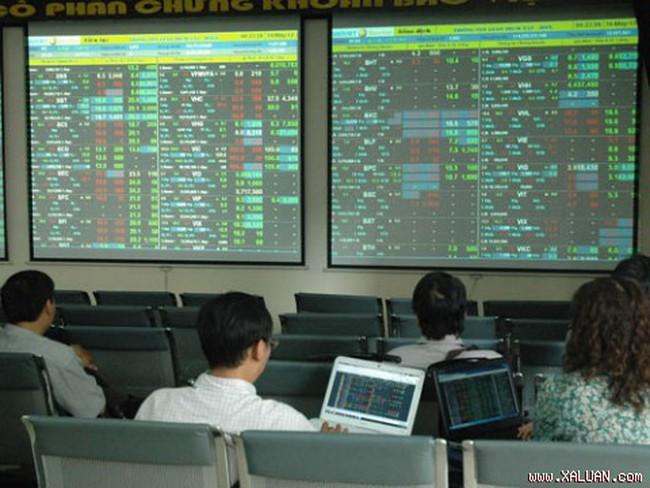 VN-Index giảm điểm cuối ngày