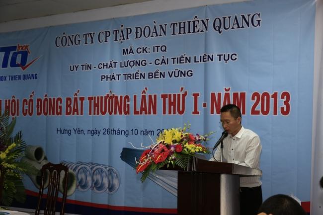 Thiên Quang ITQ thông qua việc tăng vốn, 9 tháng lãi ròng 2,5 tỷ đồng