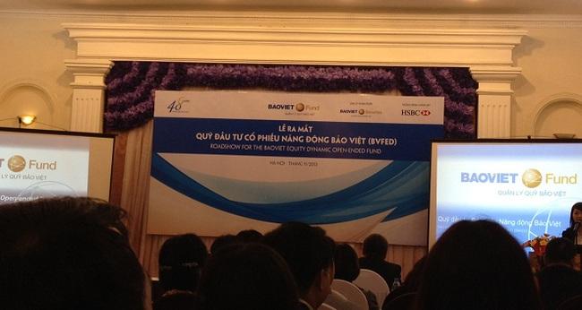 Quỹ mở đầu tư năng động Bảo Việt BVFED chính thức chào bán lần đầu từ 18/11-18/12