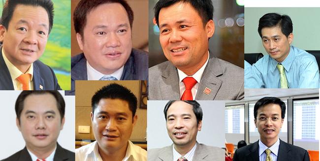 Ai giàu nhất trong số lãnh đạo CTCK và công ty quản lý quỹ năm 2013?