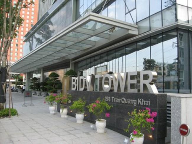 Vốn hóa thị trường cổ phiếu BIDV giảm hơn 4.700 tỉ đồng