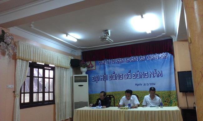 [Trực tiếp] ĐHCĐ Khoáng sản Quang Anh: Trình phương án phát hành riêng lẻ 2 triệu cổ phiếu