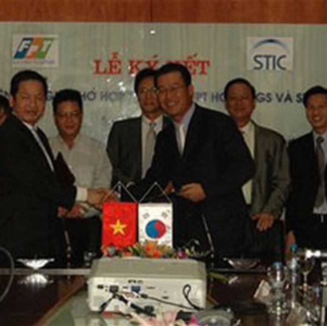 FPT hợp tác với STIC của Hàn Quốc