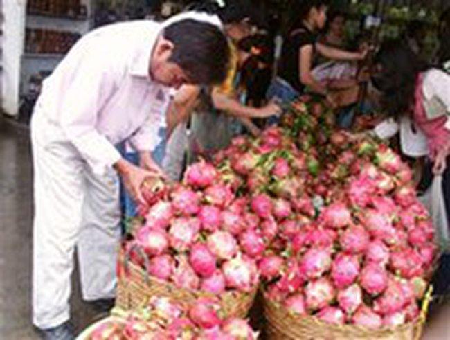 Mỹ cho nhập khẩu thanh long Việt Nam