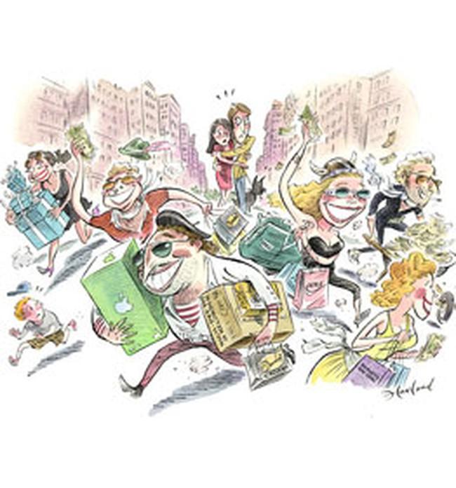 USD yếu, khách nước ngoài đổ xô tới New York