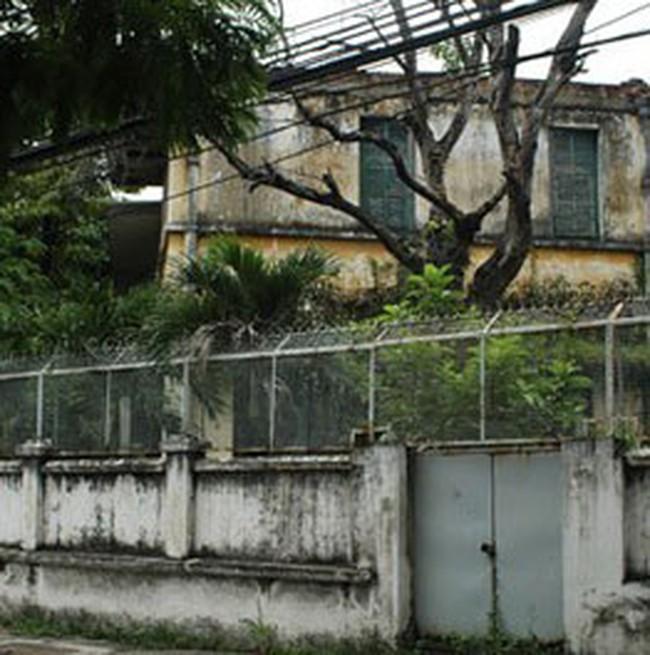Thay biệt thự cũ bằng nhà cao tầng