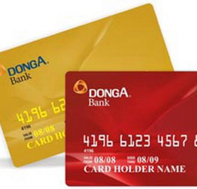 DongA Bank gia nhập thị trường thẻ tín dụng