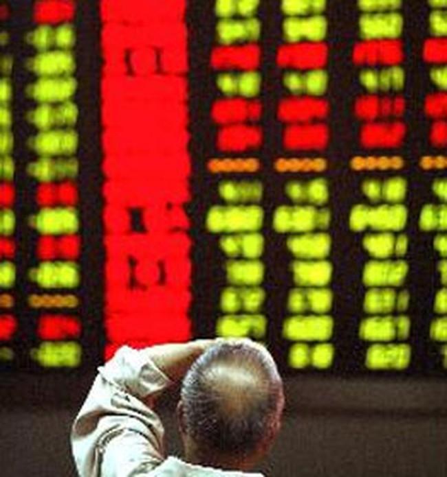 Thị trường biến động vì cổ phiếu tài chính