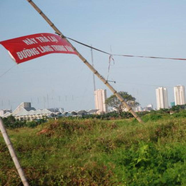 Giao dịch nhà đất đô thị mới Trung Văn bị gián đoạn