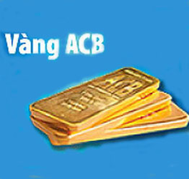 Xuất hiện thương hiệu vàng miếng ACB trên thị trường