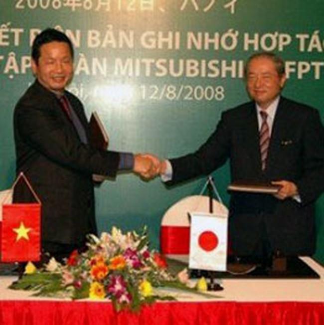 FPT ký kết đối tác chiến lược với Mitsubishi