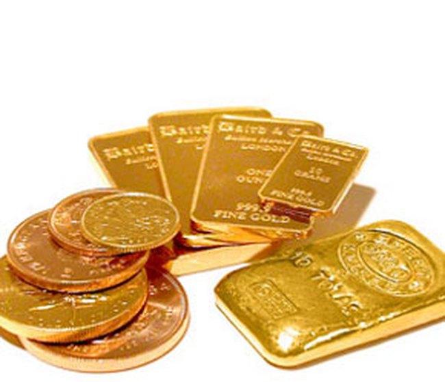 Giá vàng trượt mạnh khỏi mốc 800USD/ounce