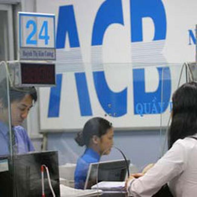 Ý kiến của UBCKNN về việc phát hành cổ phiếu trả cổ tức của ACB