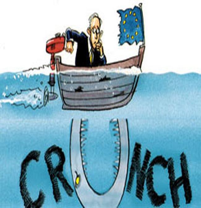 """Châu Âu """"rùng mình"""" trong suy thoái kinh tế"""