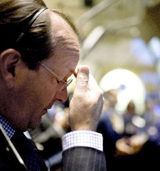 Chứng khoán Mỹ lại lo vì cổ phiếu tài chính