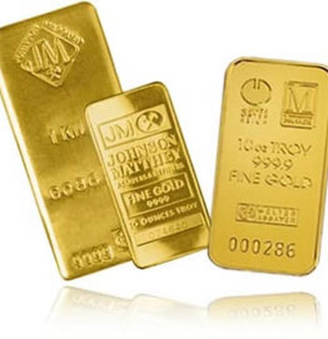 Giá vàng giảm 50.000 đồng/lượng