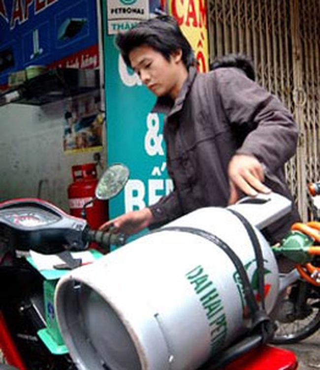 Dừng nhập khẩu bình ga đã qua sử dụng