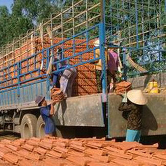 Hà Nội: Giá gạch tăng 400% so với năm trước