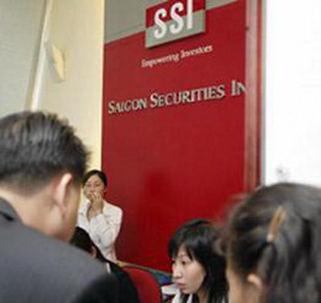 SSI: lợi nhuận tháng 7 đạt 91,5 tỷ, lũy kế từ đầu năm đạt 64,3 tỷ