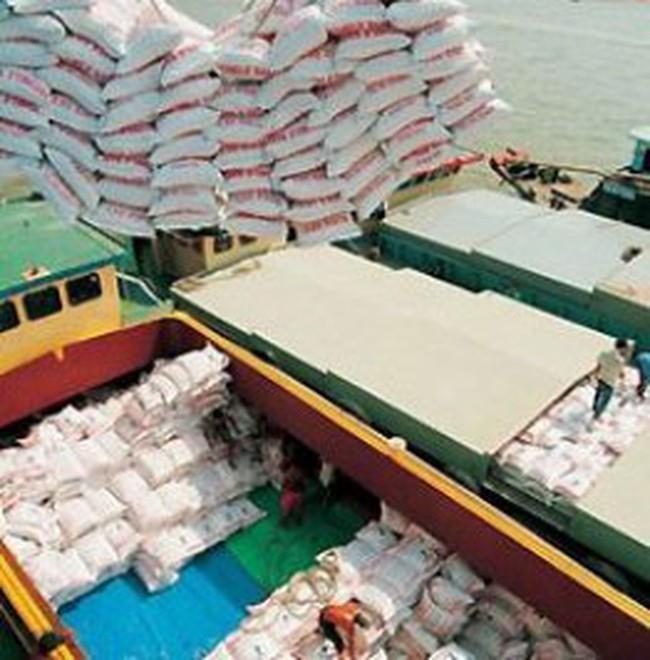 Xuất khẩu gạo vượt 2 tỉ đô la Mỹ