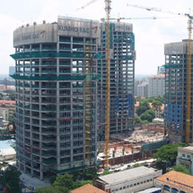 HBC: Hoàn thành phần thô của Kumho Asiana Plaza trước hạn