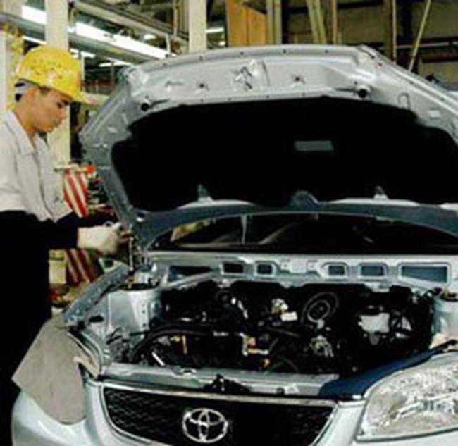 Toyota nâng tỉ lệ nội địa hóa tại Việt Nam