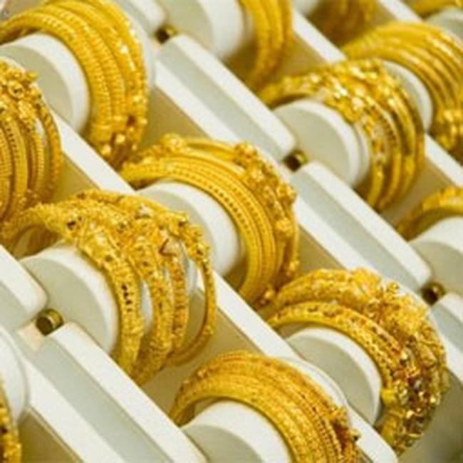 Vàng tăng giá 210.000 đồng/lượng