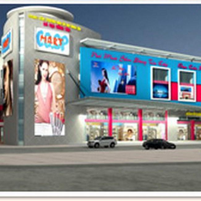 Khởi công trung tâm mua sắm Co.opMart tại Bà Rịa