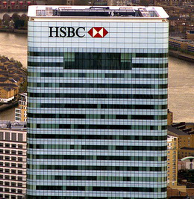 HSBC không sử dụng nguồn vốn từ kế hoạch hỗ trợ của chính phủ Anh