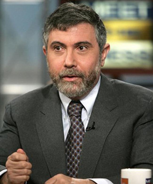 Paul Krugman đoạt giải Nobel kinh tế 2008