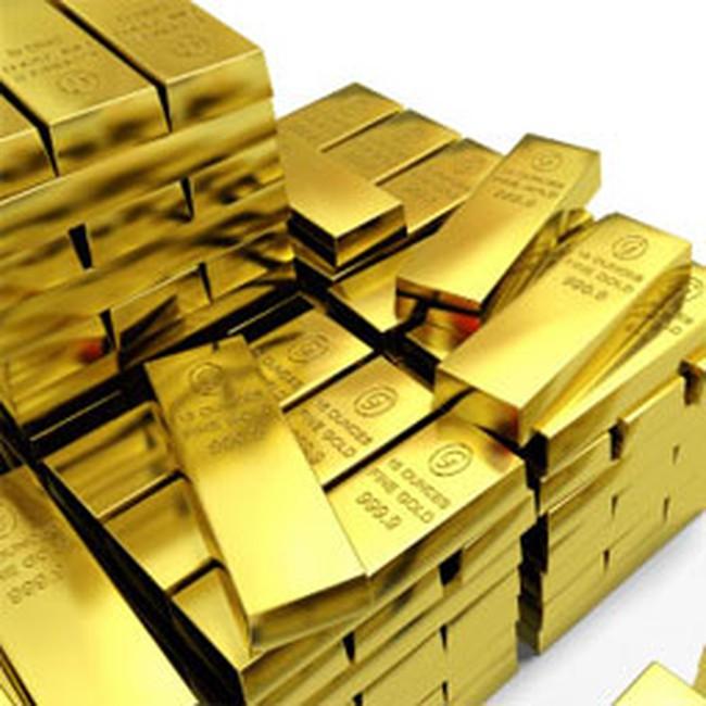 Giá vàng giảm nhẹ 30.000 đồng/lượng