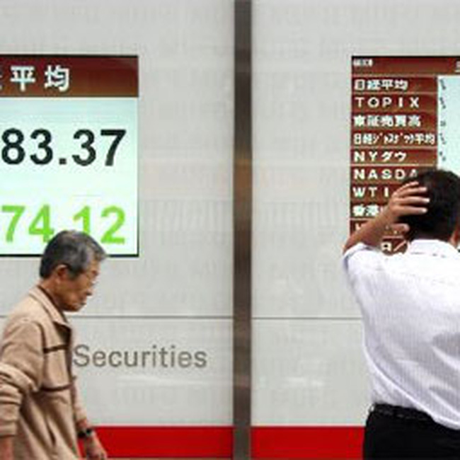 Chứng khoán châu Á giảm mạnh