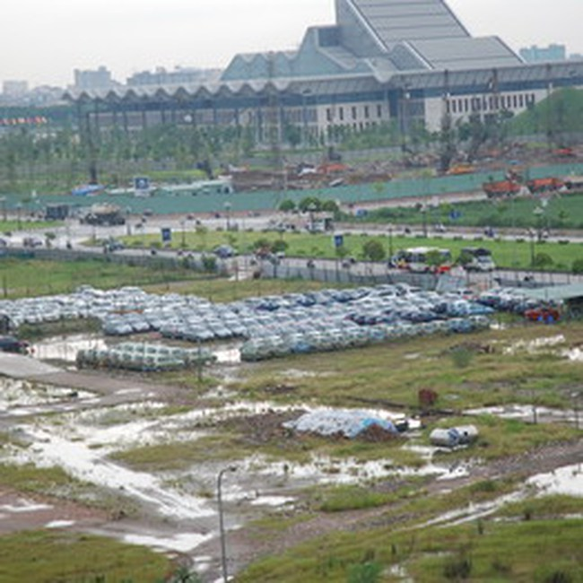 Xin thay đổi chiều cao công trình mặt đường Phạm Hùng
