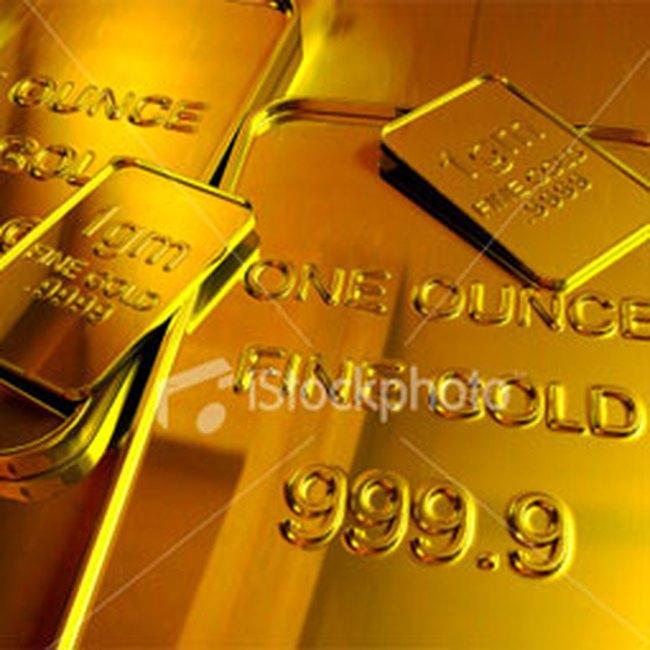 Vàng tăng giá 100.000 đồng/lượng