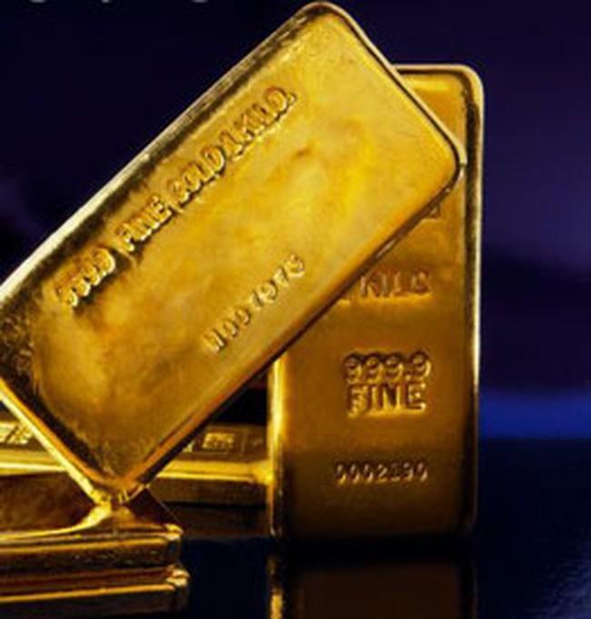 Giá vàng thấp nhất trong 1 năm